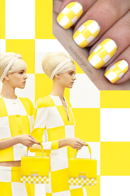 missladyfinger:  MANICURE MUSE: Louis Vuitton Spring '13 Campaign CHECK it out…