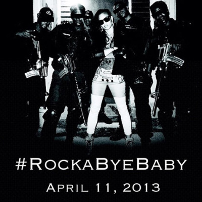 Cassie announced her mixtape '#RockaByeBaby'will be released on April 11, 2013.