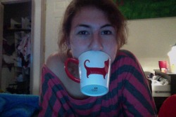 wienerdogseverywhere:  I really like my wiener dog mug!! <3  cute!
