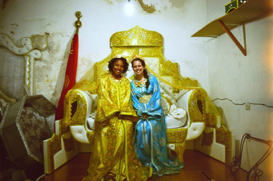 ciazajira:  Annie and I. Moroccan bridal dresses.