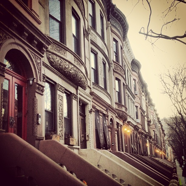 #Harlem brownstones a thing of #beauty!! #iwantone