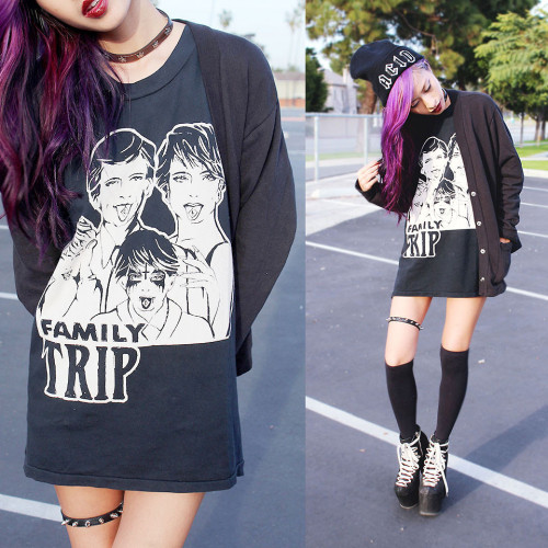 lookbookdotnu:  Away on a family trip (by Dominique N.)