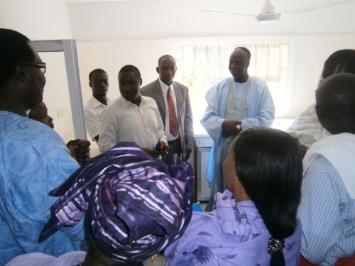 The Gambia's Minister of Health, Social Welfare, Bala Gaba Jahumpa, visited Mankana community clinic in a ChildFund-supported community earlier this year. ChildFund works closely with our local partner organization, the Eastern Foni Federation, to provide health services to children and families in this area. The minister commended ChildFund and the federation for the lifesaving services being provided to the people in the community. He emphasized the importance his government attaches to health service delivery and thanked ChildFund for its partnership. He also pledged the government's full support to fully equip the clinic with basic medical equipment and recruitment of medical staff. Discover more about ChildFund's work in The Gambia.