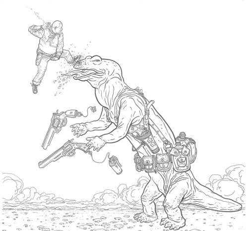 nightofthecomics:  Geof Darrow