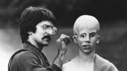 fuckyeahbehindthescenes:  Tom Savini was one of the first crew members on board for the film because the producers idolized his special makeup effects in Dawn of the Dead.  Friday the 13th (1980)