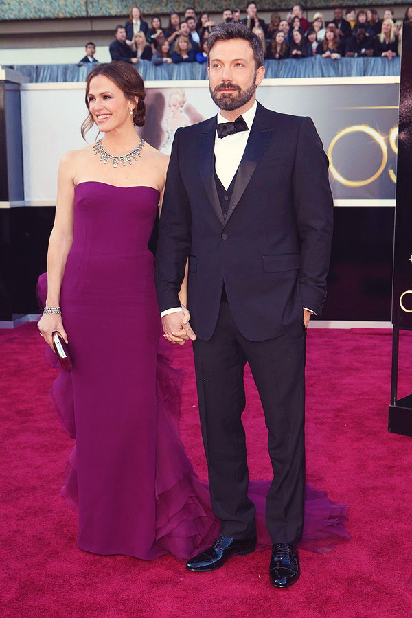 Ben Affleck and Jennifer Garner at the 85th Annual Academy Awards  GOsh they look so great together!