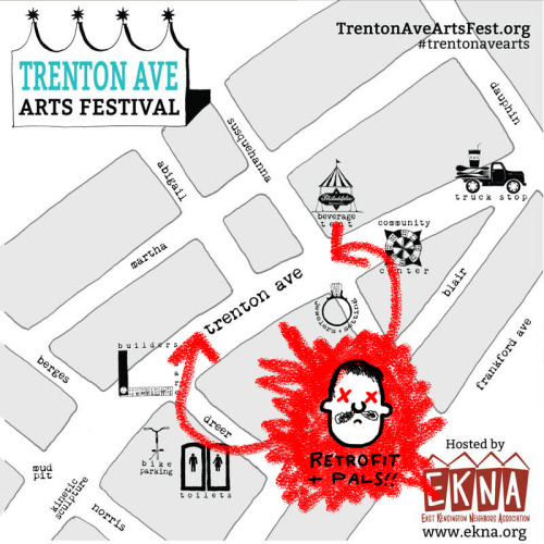 See everyone tomorrow at the Trenton Ave. Arts Fest in Philadelphia!! Afterwards come to the Record Lady After Party!!!