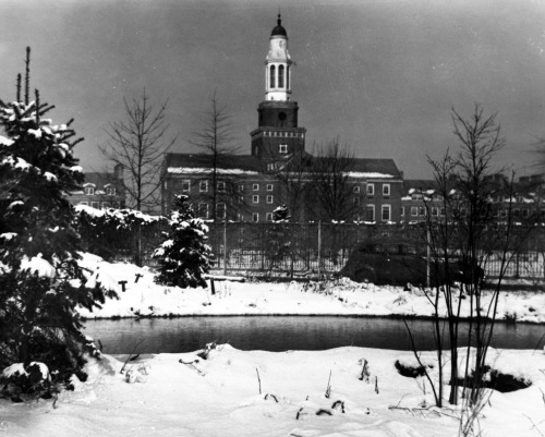 From the archive: The Brooklyn College Library from 1944.