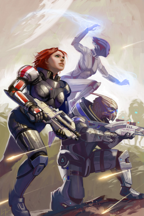 Mass Effect Fan Art by Lizzy-John via gamefreaksnz
