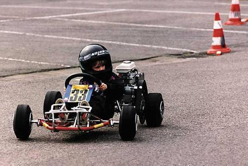 mekremblog:  Sebastian Vettel when was a child :)   (via trf1.net)