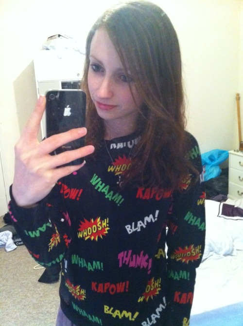 Awesome new jumper!