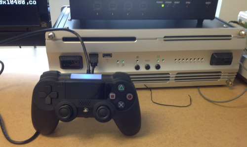 gamefreaksnz:  Could this be the new PlayStation 4 controller?  An image of what could be the new PlayStation 4 controller, or at least a prototype, has today been leaked.
