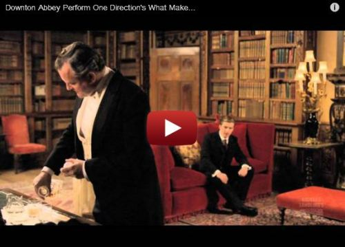 Watching The Downton Abbey Cast Sing A One Direction Song Will Make Your Day, Possibly Your Life