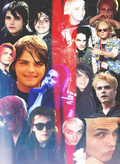 Happy 36th birthday Gerard Way Thank you for everything