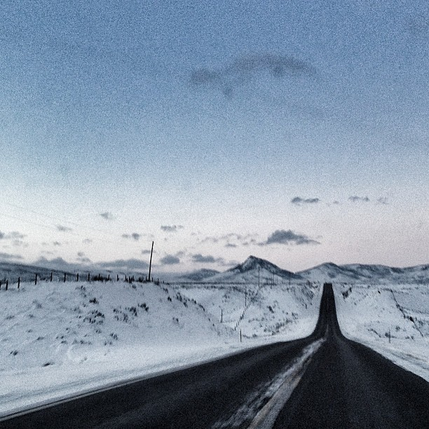 The Road Home. #colorado twilight