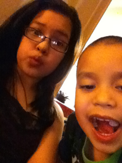 Me and my nephew<3