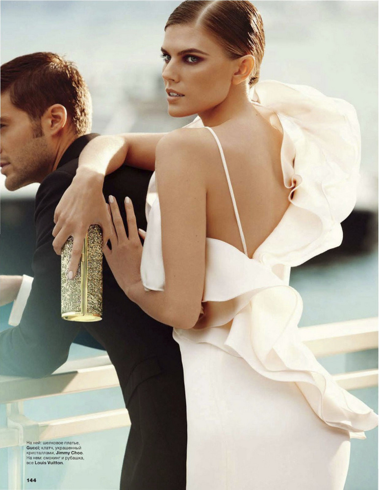 stormtrooperfashion:  Maryna Linchuk by Alexi Lubomirski for Allure Russia, May 2013