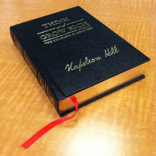 elecktronikz:  The Bible #thinkandgrowrich #napoleonhill #success #educate #selfeducate #educo