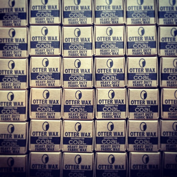 More #otterwax mini bars out the door. Made exclusively for @coalheadwear #waxitup #pdx #sea