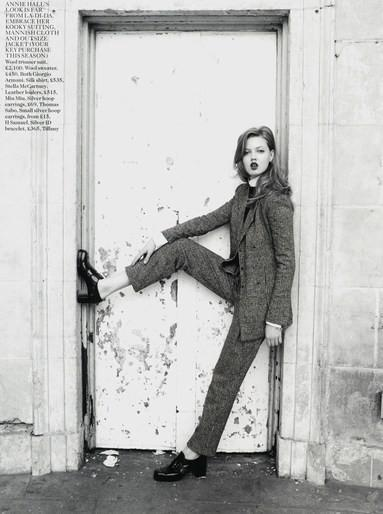 modetorial:  Lindsey Wixson in 'Daydream Believer' for British Vogue