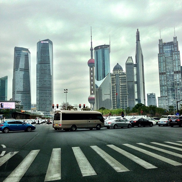#Shanghai #City - #drive #cars #travel #china