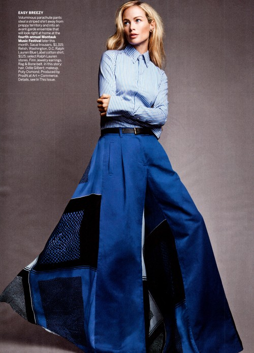journaldelamode:  Carolyn Murphy by Patrick Demarchelier for Vogue US May 2013