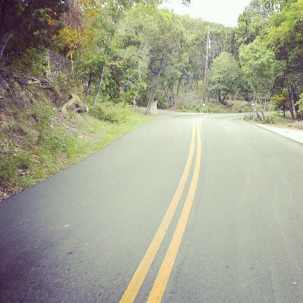If there is a better stretch of road in the city of austin I haven't found it