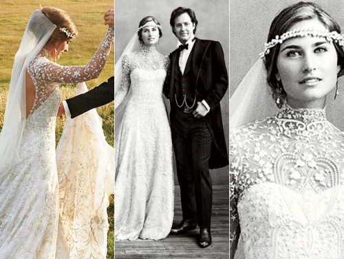 Lauren Bush wedding dress