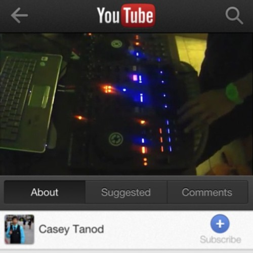 Check my first #DJ video on YouTube~! The link is here and in my bio: http://youtu.be/78_4AfWIfig   Enjoy and please give feedback ^_^ 🎶