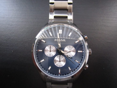"Styled Find: Fossil Watch Across my many shopping journeys, watches are always a treasure find for myself. I love Fossil, they make extremely gorgeous watches, and when I came across this beauty I had to grab it for Spring! I love the blue face, I think it really looks ""spring"" to me if that makes sense. Let me know how you feel about watches and if you have come across any good finds!"