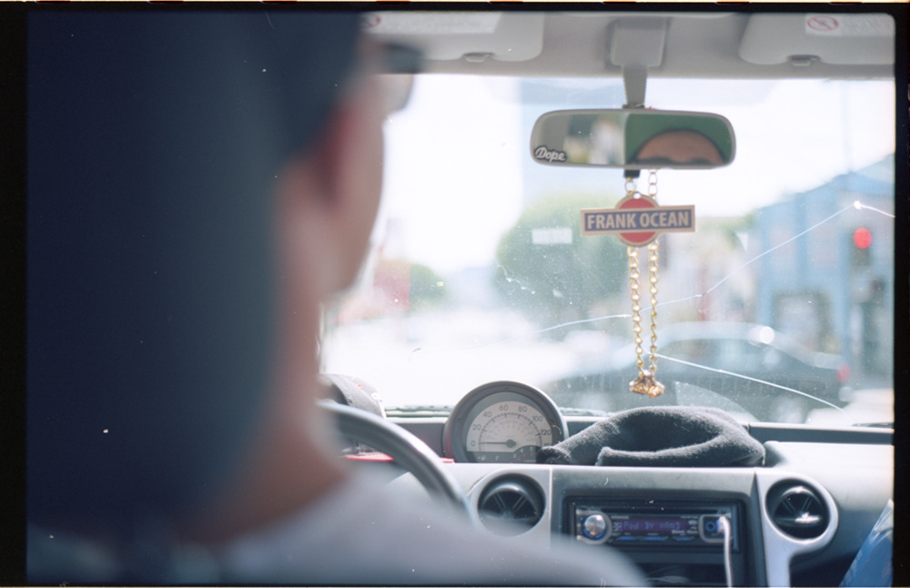 russinabox driving / 35mm russ' car / los angeles / california / by kayven