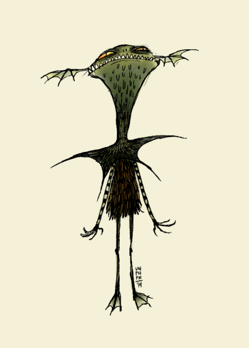 The Creature From A Darkish-Coloured LagoonTwitter doodle. Sometimes I draw random things on Twitter.