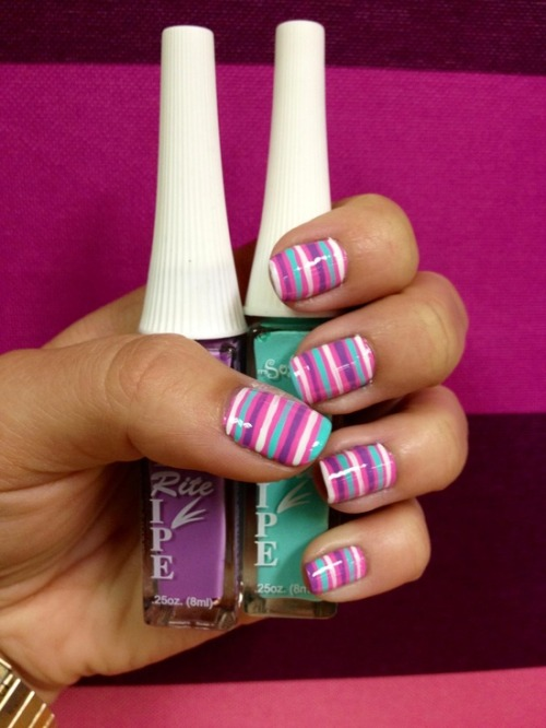 christinacreative:  Get more nail art!