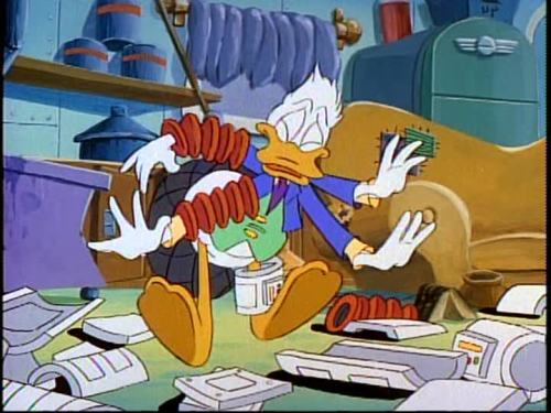 """DuckTales - Full Metal Duck"" (1989) Fenton, Disney Channel"