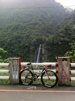 did some climbing this morning… come to ride in Taiwan, a beautiful place