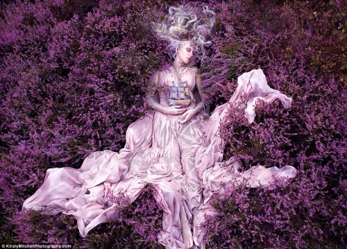 (via Wonderland by Kirsty Mitchell: heart-breakingly beautiful photographic series in memory of an extraordinary life | Mail Online)