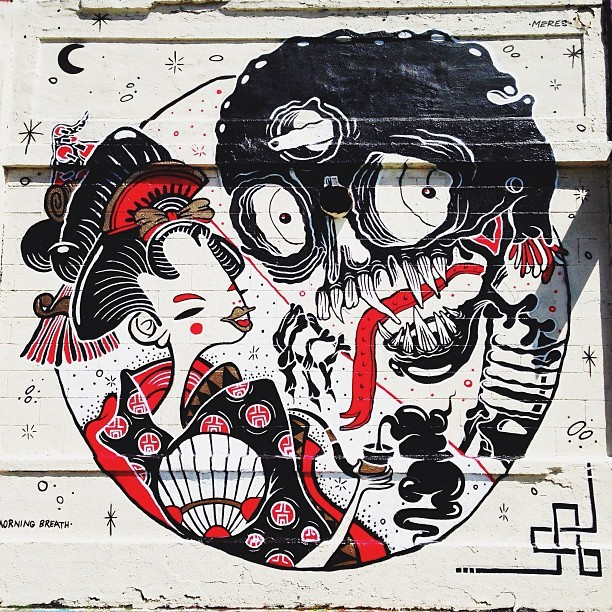 Okasan & The Devil   Pipe Dreams Sheryo x The Yok 5pointz, NY