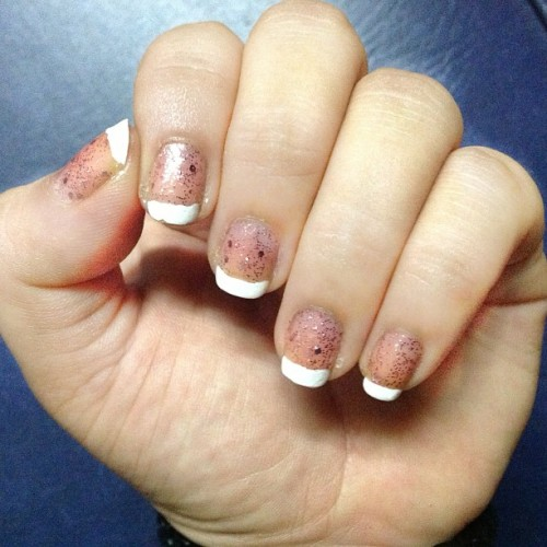 #nailart #simple #girly #lovet!  (at D. Ampil St.)