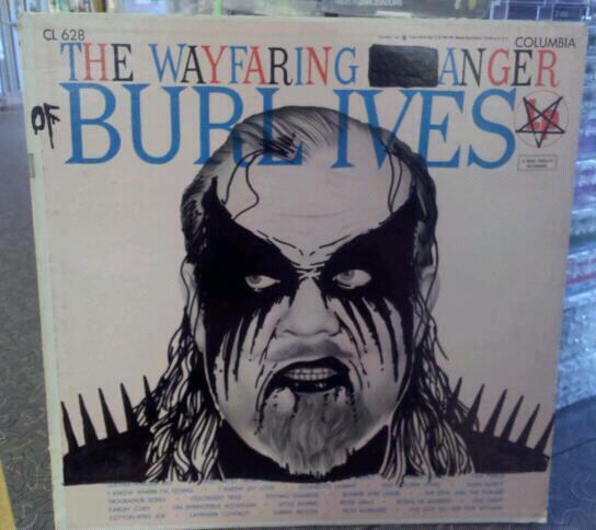 The Wayfaring Anger of BURL IVES.