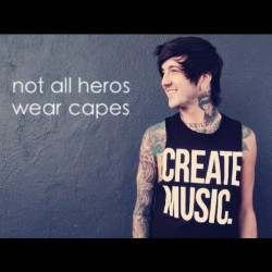 say whatever you like, but @austincarlile is and will always be my hero <3 #ofmiceandmen #myhero #austincarlile #inspirational #talented #truly #brilliant #muchlove