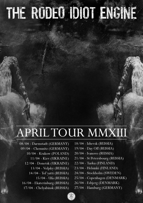 APRIL TOUR MMXIII