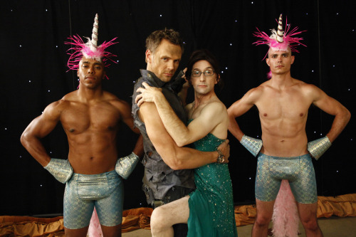 Community season four premieres tonight! Get in the mood with Joel McHale's grunge playlist.