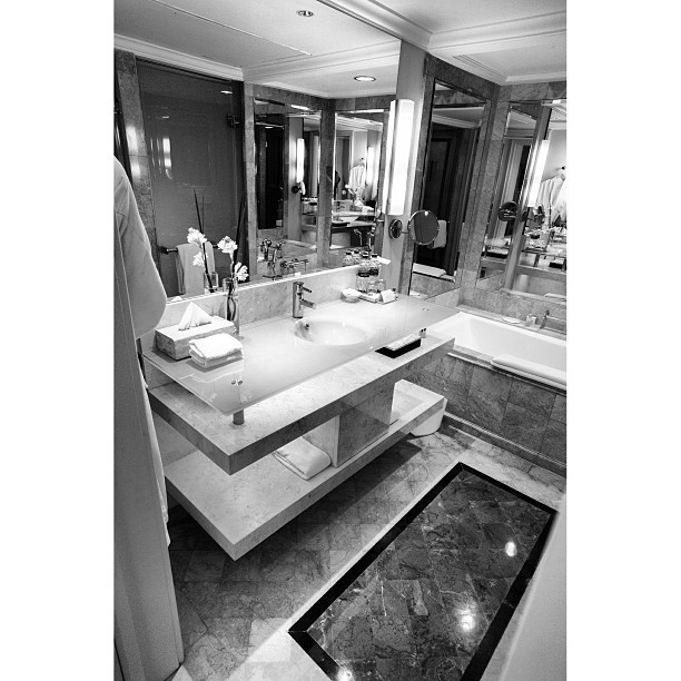 The #Grandhyatt #Jakarta #Bathroom - #grand #clean #marble #room #hotel