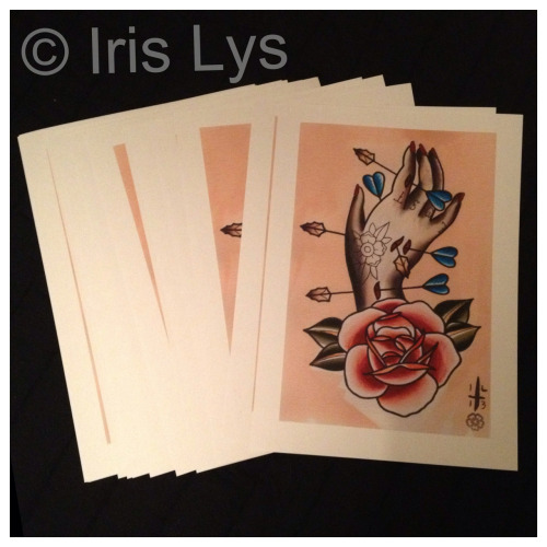 irislys:  New A4 prints on watercolour paper available now!!