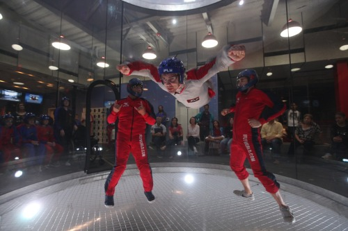 Indoor skydiving with my sister for her birthday! SO AWESOME!!
