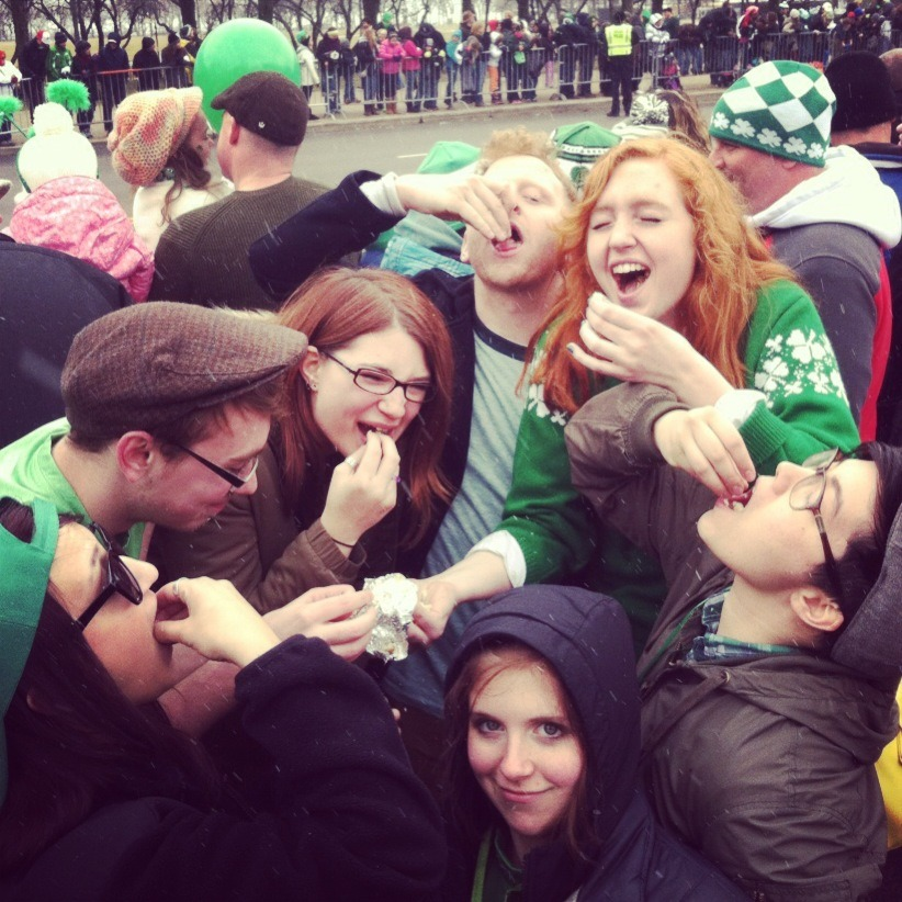 I fucking love these guys. The best saint patrick's day ever….the day before st. patrick's day.