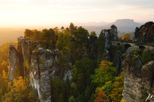 allthingseurope:  Saxon Switzerland, Germany (by Stefan Mendelsohn)
