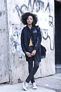 bkstyleco:  Kilo Kish, Musician & Poet, on North 6th
