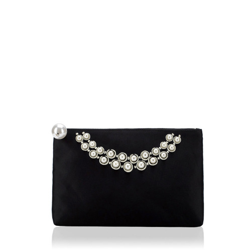 Pearl Necklace Large Top Zip by Lulu Guinness http://goo.gl/XB0jc