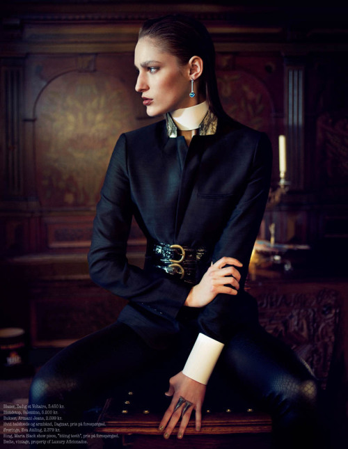 classicmodels:  Franzi Mueller is A Romantic Vision In Luxury Aficionados by Waldemar Hansson
